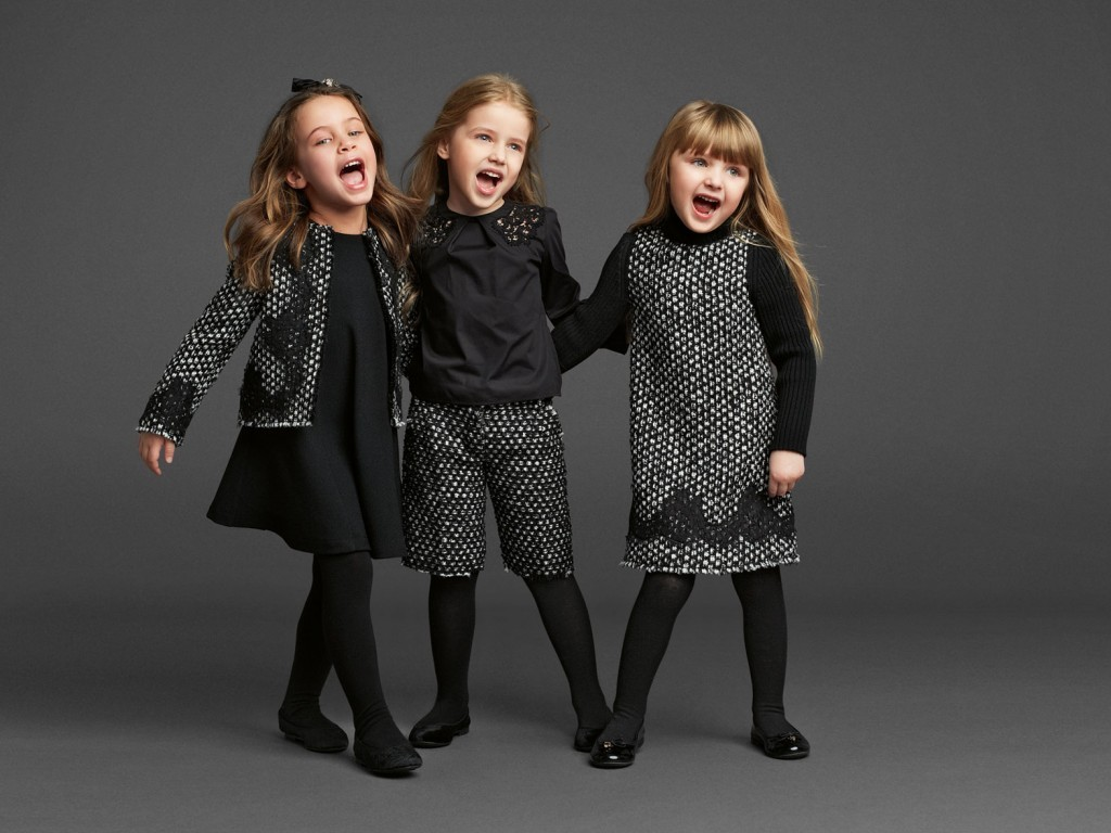 Dolce and Gabbana для детей фото